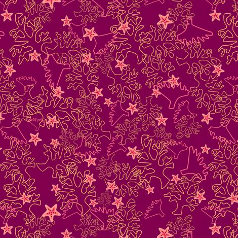 Seafloor Floral fabric by otterspiel on Spoonflower - custom fabric