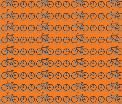 I_Want_to_Ride_My_Bicycle fabric by mammajamma on Spoonflower - custom fabric