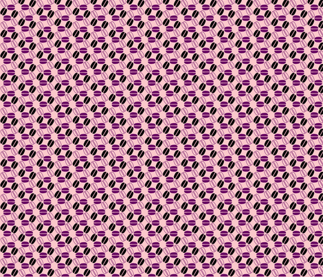 ©2011   coffeespin2-pink and purple fabric by glimmericks on Spoonflower - custom fabric