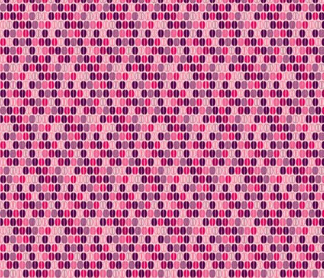 © 2011 Coffee Time Beans - pinkish fabric by glimmericks on Spoonflower - custom fabric