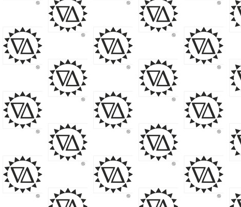 zaya_logo_tshirt fabric by dee24 on Spoonflower - custom fabric