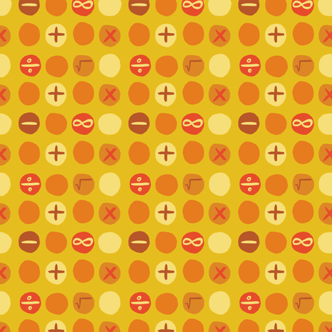 One Plus One fabric by gsonge on Spoonflower - custom fabric