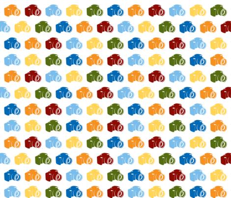 Cameras fabric by sahmcolorado on Spoonflower - custom fabric