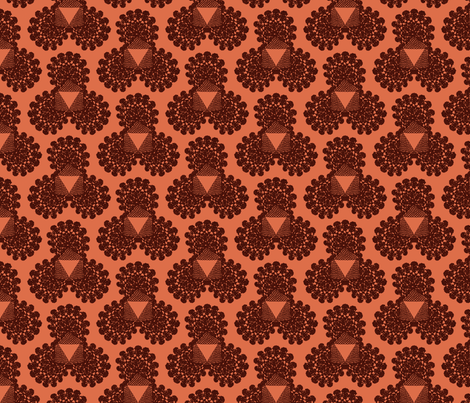 Spicy crochet fabric by meredithjean on Spoonflower - custom fabric
