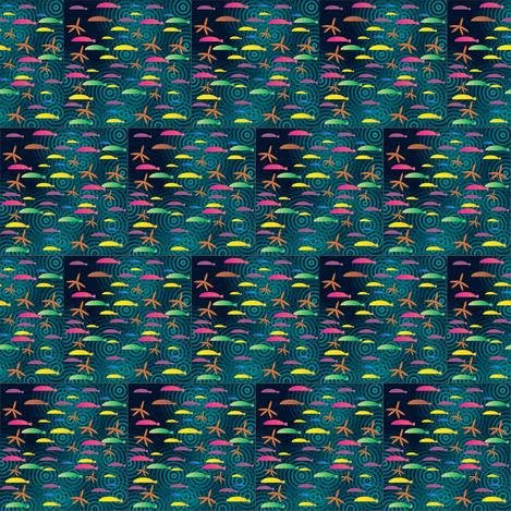 Ditsy_fish_spoonflower_1_2012 fabric by compugraphd on Spoonflower - custom fabric