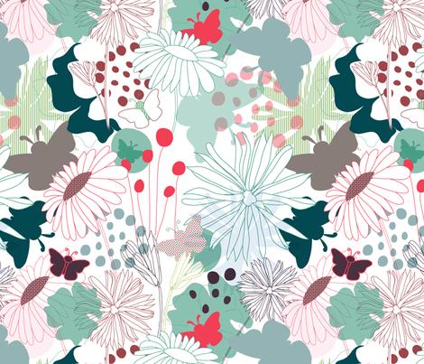 Wonderland #2# fabric by demigoutte on Spoonflower - custom fabric