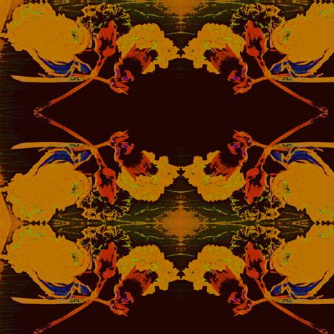 Flower Negatives fabric by justjoycelyn on Spoonflower - custom fabric