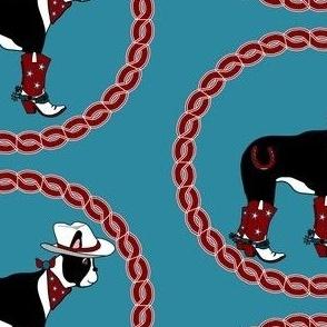 Patriotic Cowboy