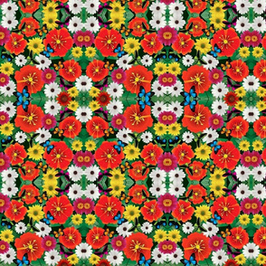 Abstract Vector Flowers_3