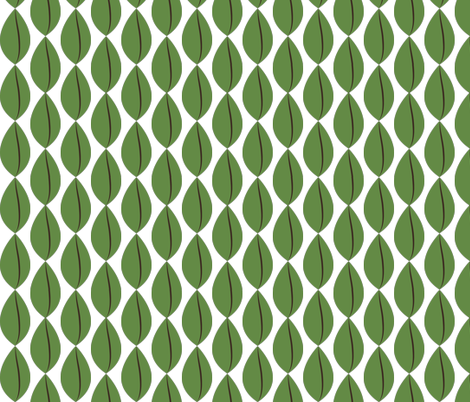 barista beans fabric by terriaw on Spoonflower - custom fabric