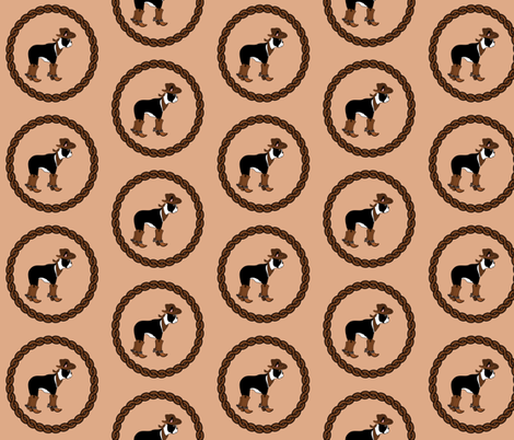 Rodeo cowboy fabric by missyq on Spoonflower - custom fabric