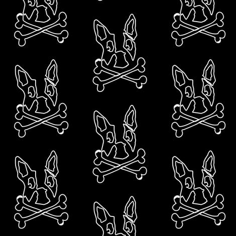 Blackboard Boston fabric by missyq on Spoonflower - custom fabric