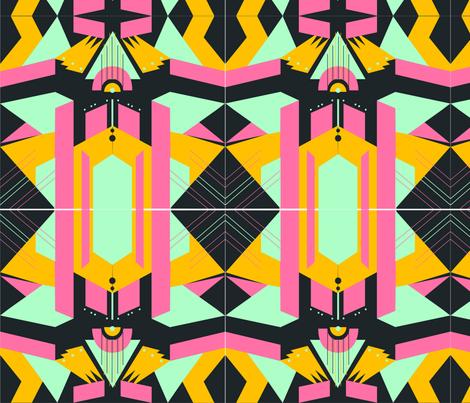artdeco1 fabric by azaliamusa on Spoonflower - custom fabric