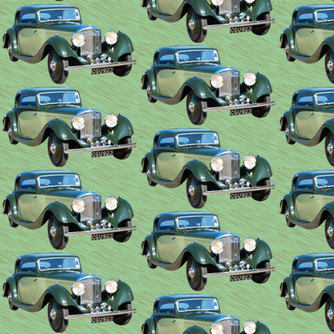 classic old car fabric by krs_expressions on Spoonflower - custom fabric