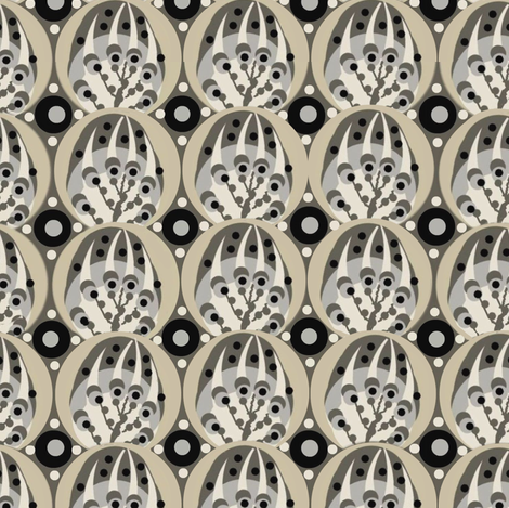 deco / ink fabric by paragonstudios on Spoonflower - custom fabric