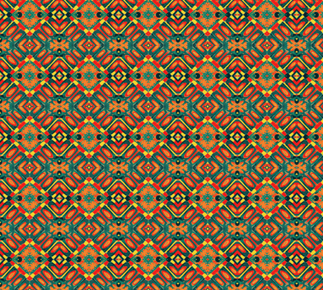 Emerging from Drought-small version fabric by susaninparis on Spoonflower - custom fabric