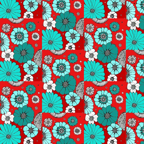 teal_red_white_black_flowers