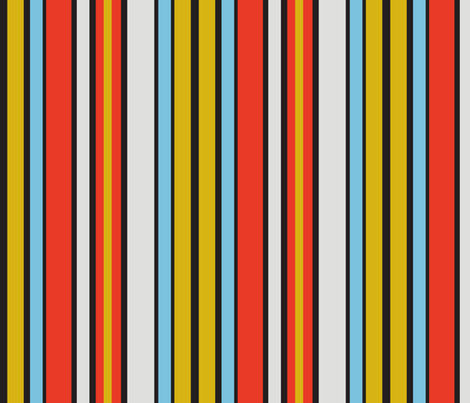 colorful_basic_stripe fabric by gsonge on Spoonflower - custom fabric