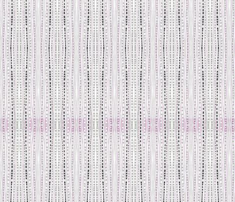 PinkBlackStripes fabric by ghennah on Spoonflower - custom fabric