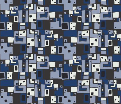LaraGeorgine_Art_Deco_4_Color fabric by larageorgine on Spoonflower - custom fabric