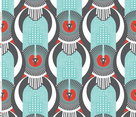 Art Deco Shanghai fabric by zesti on Spoonflower - custom fabric