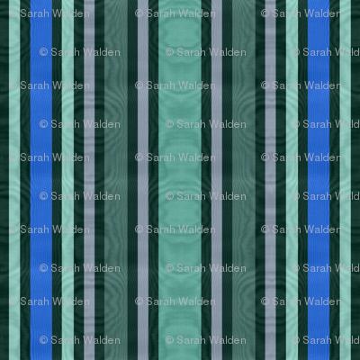 Scarborough Striped Moire