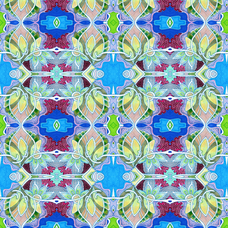 Peachy Keen fabric by edsel2084 on Spoonflower - custom fabric
