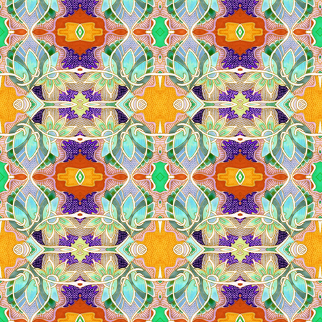 Fruit of the Vine fabric by edsel2084 on Spoonflower - custom fabric