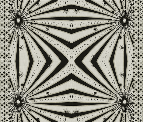 Let It Shine fabric by whimzwhirled on Spoonflower - custom fabric