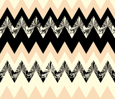 Zip Wave fabric by kyia on Spoonflower - custom fabric