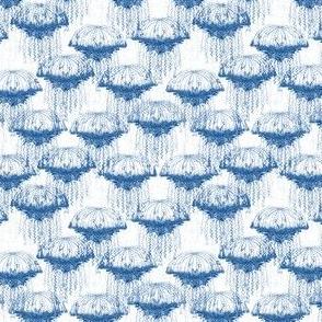 Blue Jellyfish Swarm