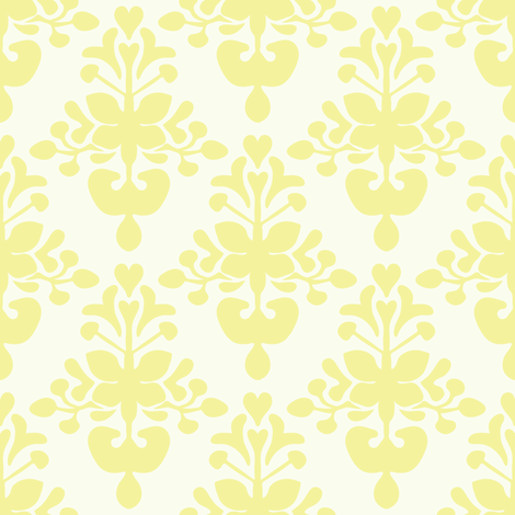 lemontree fabric by lilliblomma on Spoonflower - custom fabric