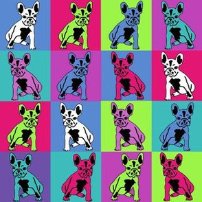 french bulldog fabric frenchie colors