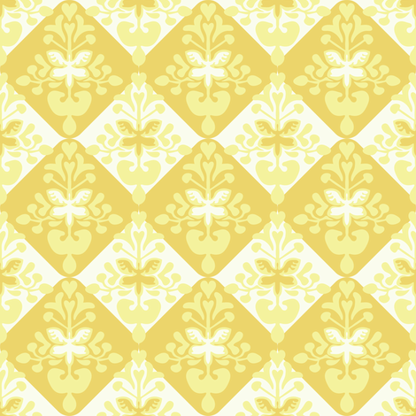lemontree2 fabric by lilliblomma on Spoonflower - custom fabric