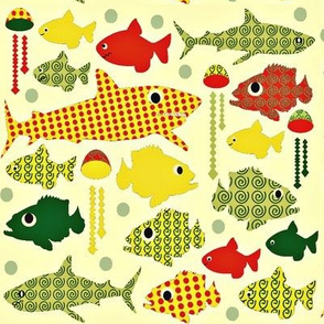 1960s deep sea fish...