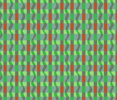 green_blue_red_plaid_for_apples fabric by gsonge on Spoonflower - custom fabric