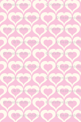 My Love Grows - Valentine's Day Hearts Pink