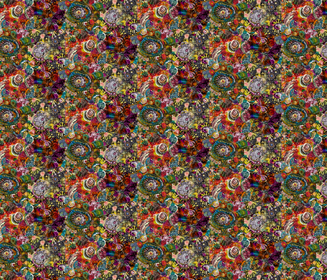Flow fabric by peonyandparakeet on Spoonflower - custom fabric