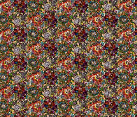 Flow fabric by peonyandparakeet on Spoonflower - custom fabric