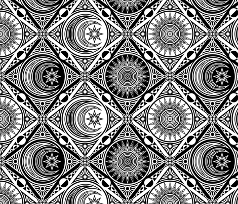 Color Me Celestial 2 fabric by shala on Spoonflower - custom fabric