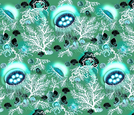 amazing jellies fabric by paragonstudios on Spoonflower - custom fabric