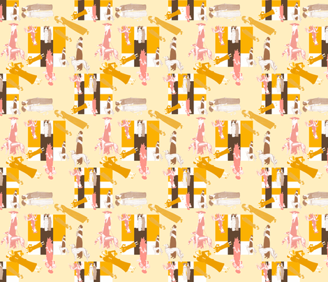 aartdecofashionistas fabric by suziwollman on Spoonflower - custom fabric