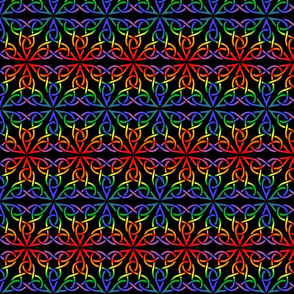 Triangle Knot- Rainbow