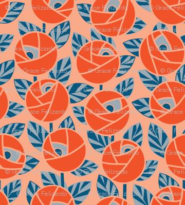 Rose Garden, Tangerine