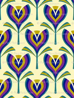 Deco tulips - cream