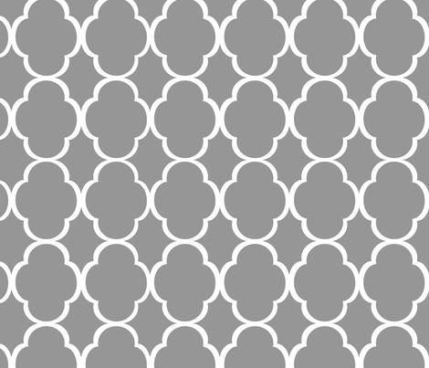 quatrefoil_grey fabric by dpack927 on Spoonflower - custom fabric