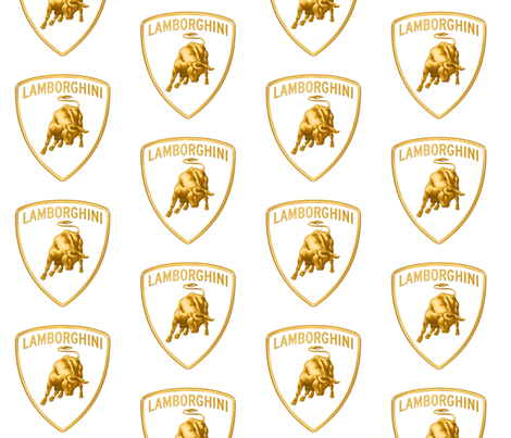 LAMBORGHINI GOLD fabric by bluevelvet on Spoonflower - custom fabric