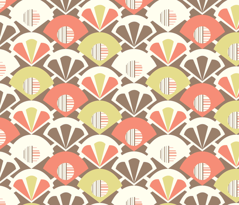 Deco Geo fabric by amel24 on Spoonflower - custom fabric