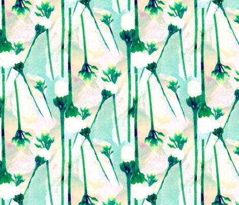 flowers fabric by michellesmith on Spoonflower - custom fabric