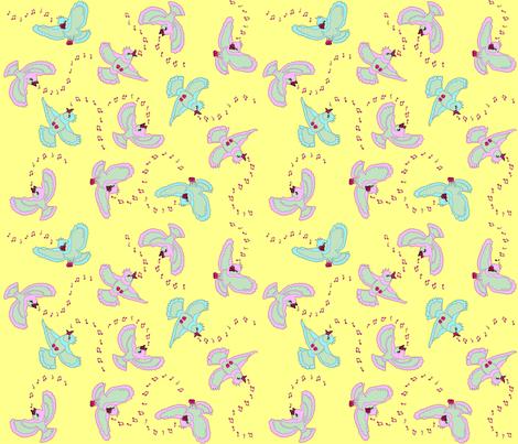 Spring_birds fabric by adranre on Spoonflower - custom fabric